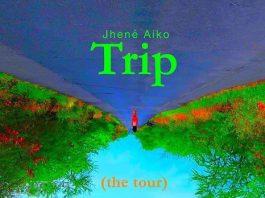 jhené aiko, trip tour, europa-