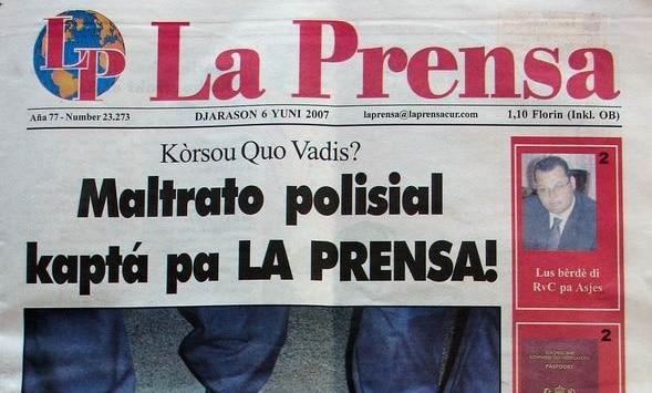la prensa, ultimo noticia, kranten, antillen, curacao