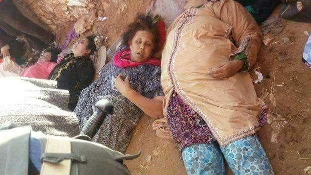 marokko, sidi boulaalam, essaouira, women, dead