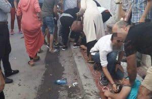 marokko, sidi boulaalam,essaouira, women, dead--