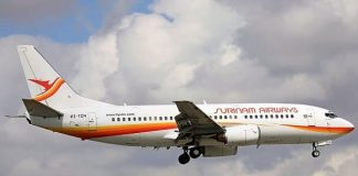 slm, surinam airways, boeing 737, pz-tcn