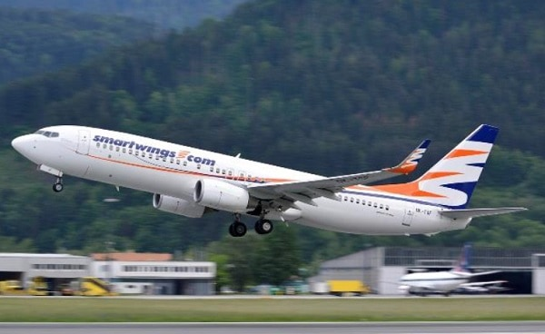 surinam airways, slm, boeing, lease