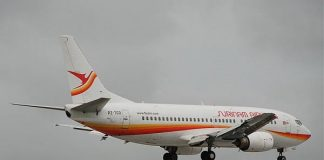 surinam airways, boeing 737, slm, aviation