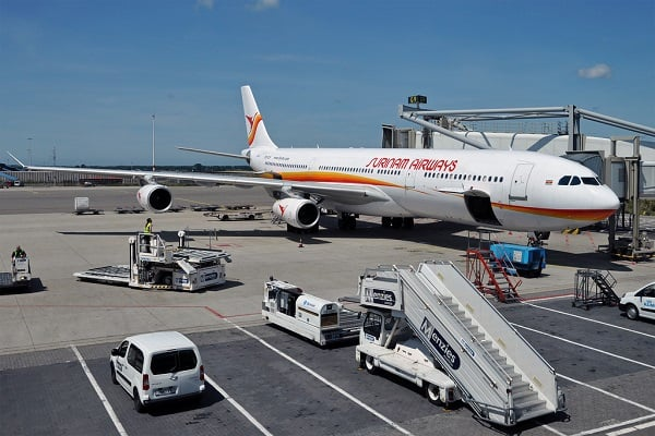surinam airways, slm, surinaamse luchtvaartmaatschappij, airbus a340