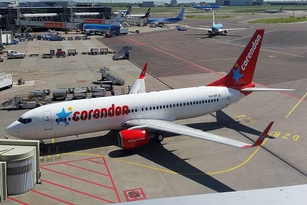 corendon, boeing 737-800