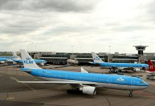 klm, amsterdam, schiphol airport