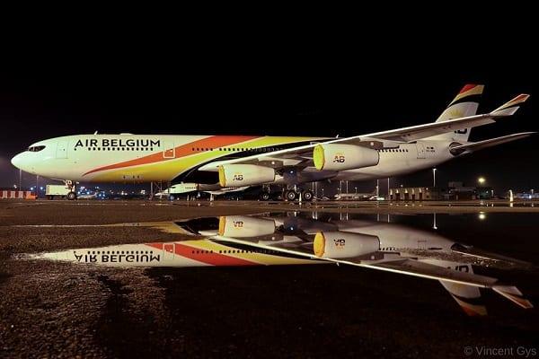 air belgium, airbus a340-
