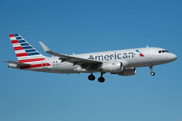 american airlines, airbus a319