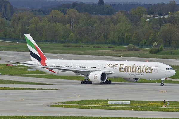 emirates, boeing 777, aircraft, airplane