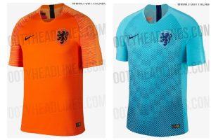 nieuw tenue nederlands elftal, 2018