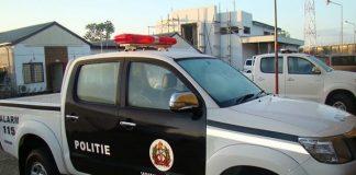 politieauto, suriname, paramaribo