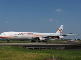 surinam airways, slm, airbus a340, pz tcp