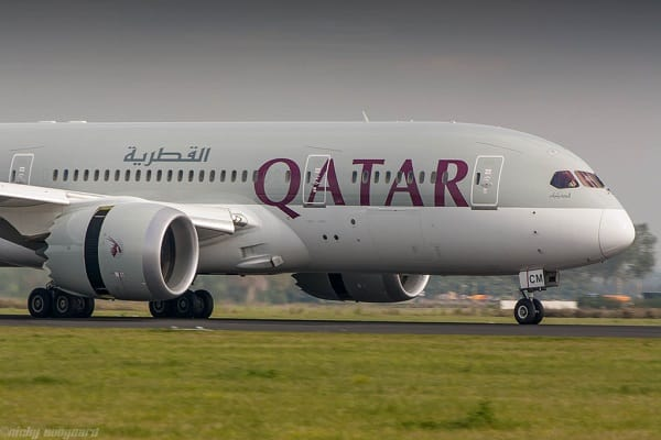 qatar airways, boeing 787, aircraft