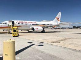 slm, boeing 737-700, surinam airways