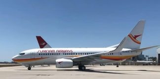 slm, boeing 737-700, surinam airways, suriname