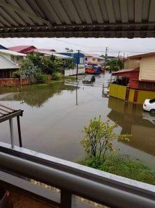 suriname, wateroverlast, regen, paramaribo3