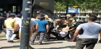 turkse consulaat rotterdam, man, arrestatie