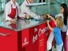emirates, ijs, gratis