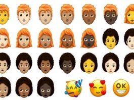 nieuwe emojis 2018-