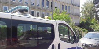 politiebus, frankrijk
