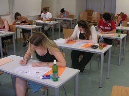 examen, school