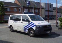 politie, belgie, auto, busje