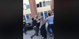 vechtpartij almere haven, de hoven, politie