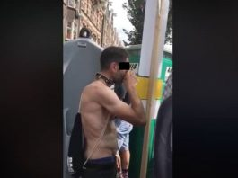 man-urine-gay-pride-2018-amsterdam