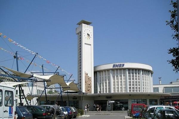treinstation brest frankrijk