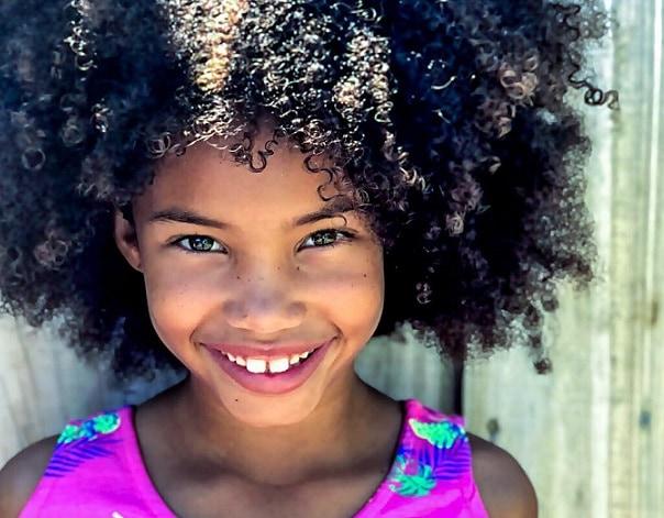 zwart meisje