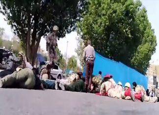 iran, parade