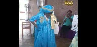 oma van engel, suriname, 100 jaar, dansen